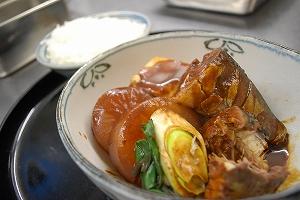 地鯖の味噌煮③